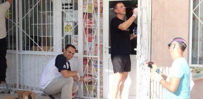 Voluntariat in spiritul filozofiei Kaizen, al angajatilor ASCO, la o gradinita din Oradea