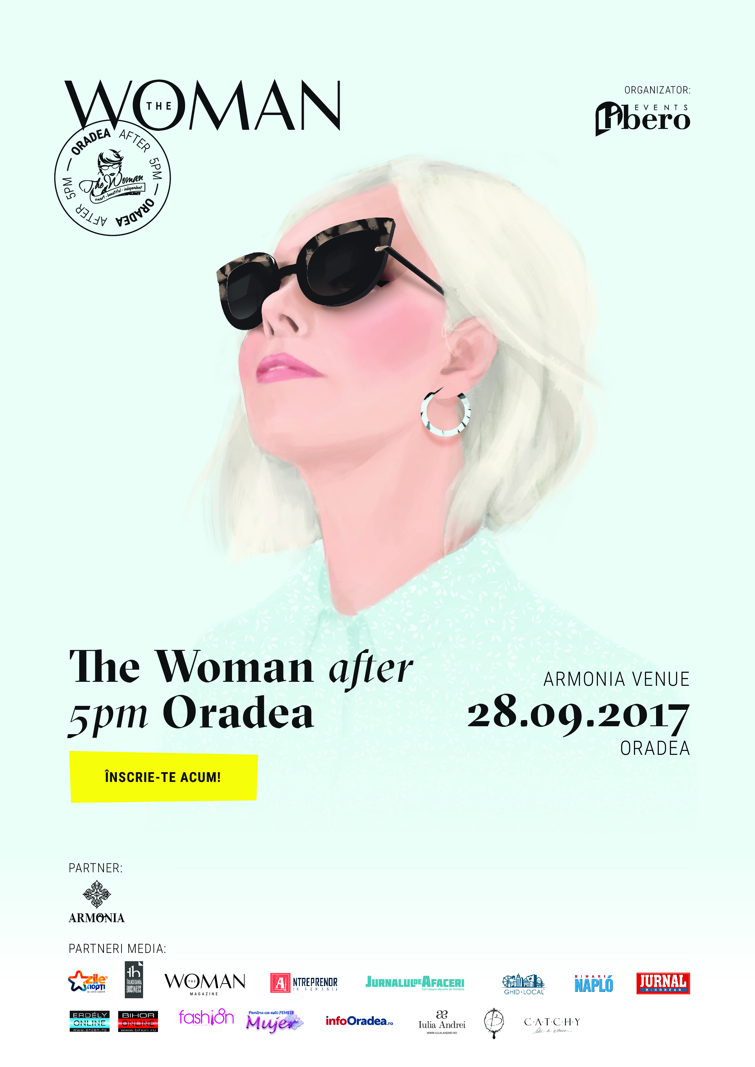 Afis The Woman after 5pm in Oradea