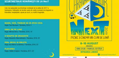 Program Caravana Filmelor Next – 8,9,10 august Cetatea Oradea