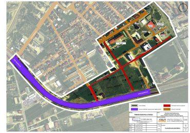 Strada noua si altele largite, pentru fluidizarea traficului in zona Nufarul  – Centura Oradea