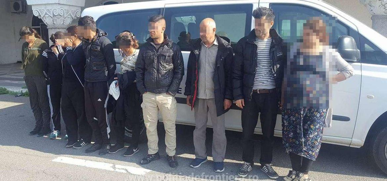 Noua irakieni si marocani prinsi in apropiere de Bors, in timp ce incercau sa iasa ilegal din tara