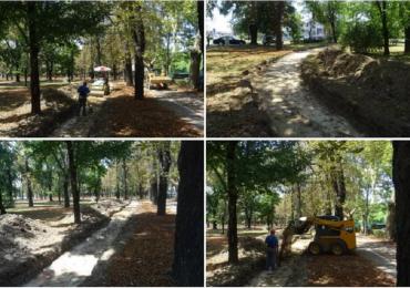 Parcul Bratianu, din Oradea, va avea o pista de alergare sintetica (FOTO)