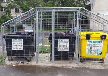 Mai civilizati. 730 de incinte pentru depozitarea deseurilor menajere montate in Oradea