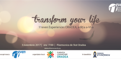 11even Experiences Oradea, 11 emoții/11 minute/11 invitați, pe 3 noiembrie la Filarmonica de Stat