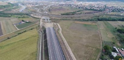 Incep sa se miste lucrurile la Autostrada Transilvania (A3) (FOTO)