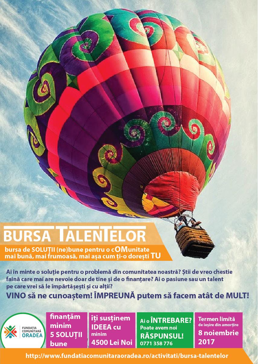 Bursa talentelor 2017 2018