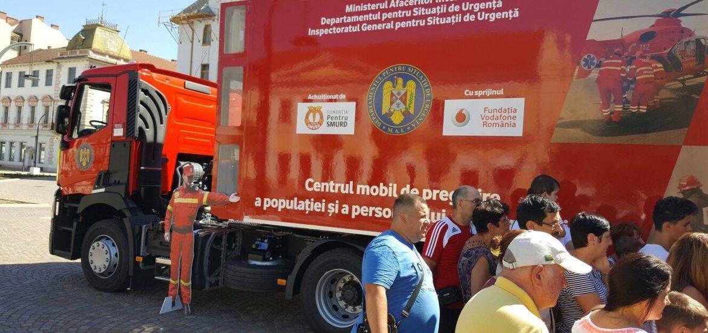 Caravana SMURD ajunge la Beius si Marghita in acest weekend