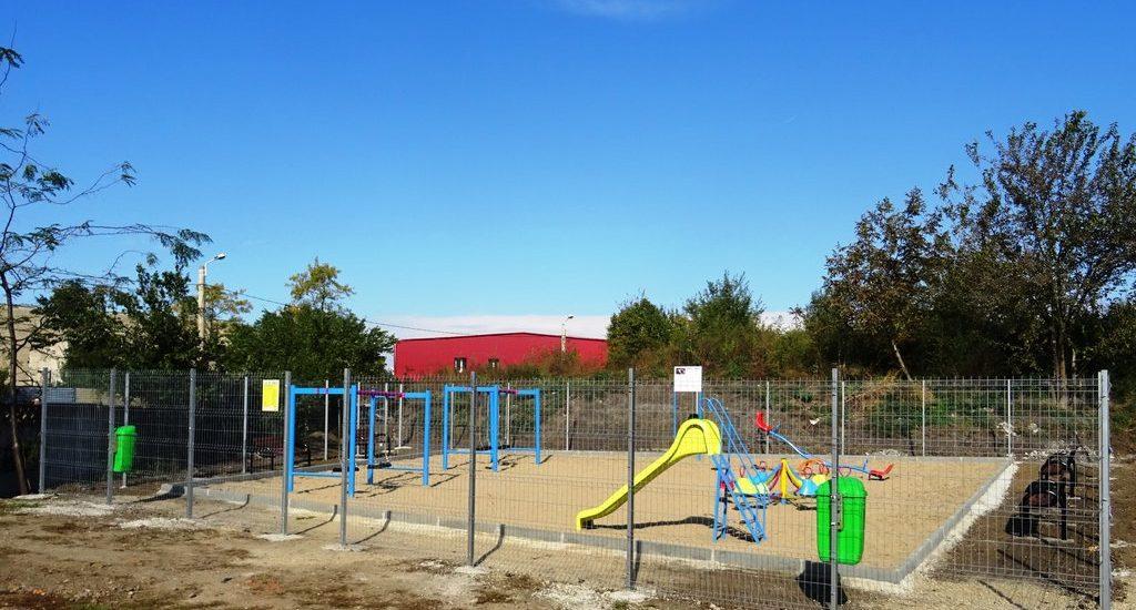 Un nou parc de joaca pentru copii in Oradea (FOTO)