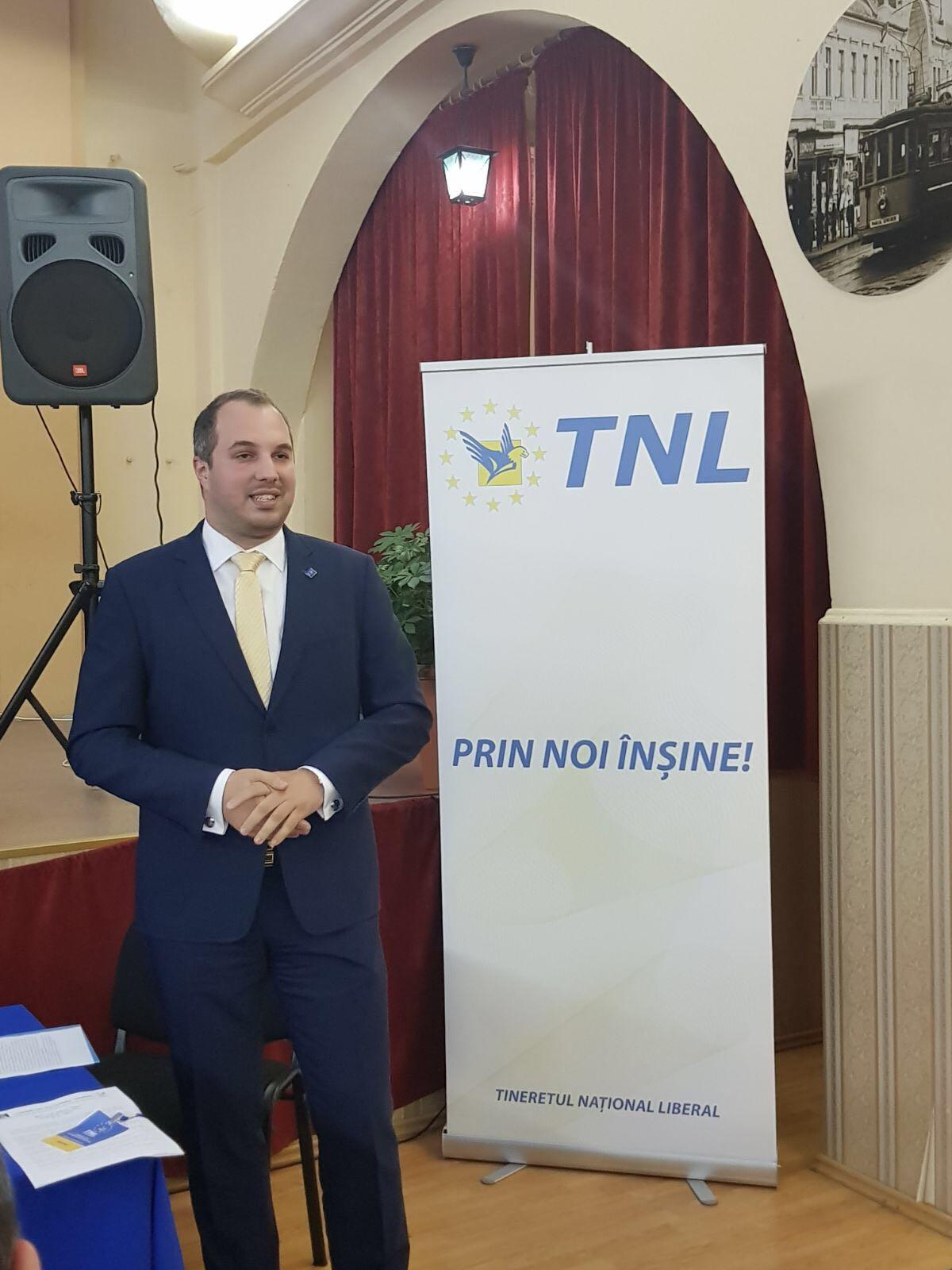 Presedinte TNL Bihor - Bogdan Pater