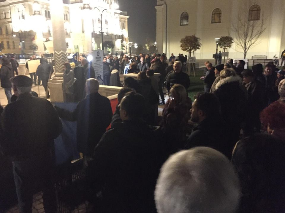 Proteste Oradea 5.11.2017