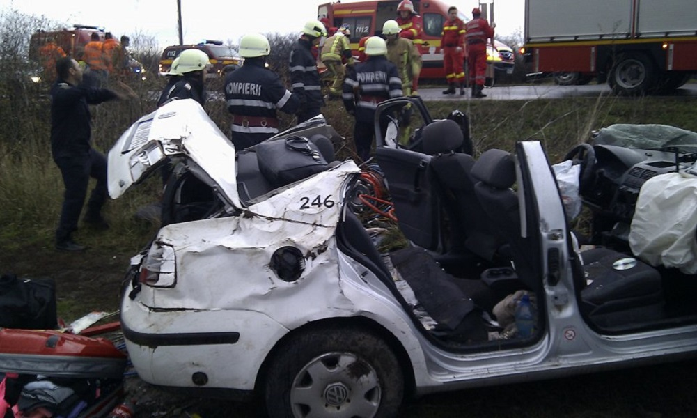 Accident grav Inand