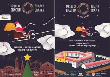 Targul de Craciun Oradea 2017 isi deschide portile pe 30 noiembrie. Ce program ne-au pregatit autoritatile