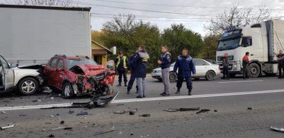 Accident grav, in aceasta dimineata, pe Borsului (FOTO)