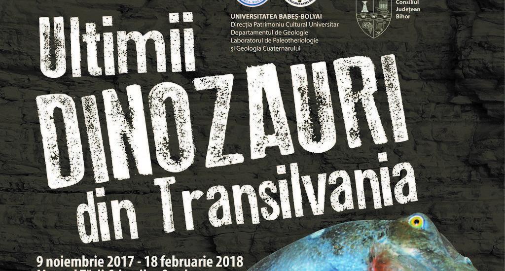 """""""Ultimii dinozauri din Transilvania"""", expozitie inedita la Muzeul Tarii Crisurilor"""