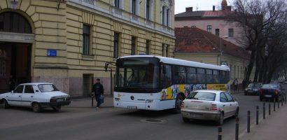 Traseul autobuzelor 10,14,20 si 23 se modifica, incepand de luni 12 decembrie 2016