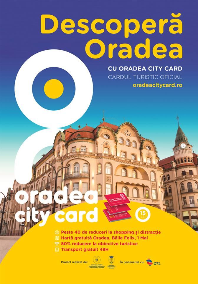 Descopera Oradea - Oradea City Card