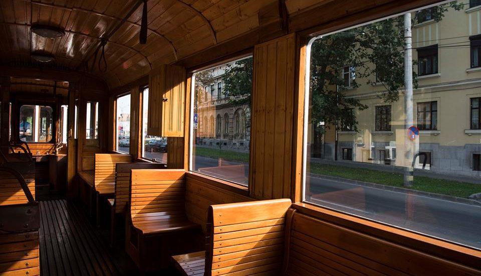 Plimbare cu Tramvaiul de Epoca, prin Oradea, duminica 30 iulie