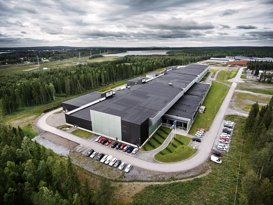 Lulea Suedia, facebook center