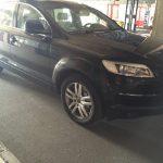 Comunicat ITPF: Autoturism Audi Q7 căutat în Polonia, depistat la P.T.F. Borş