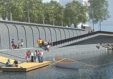 Proiect de reabilitare a malului stâng al Crișului Repede, în zona central