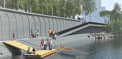 Proiect de reabilitare a malului stâng al Crișului Repede, în zona centrala – FOTO