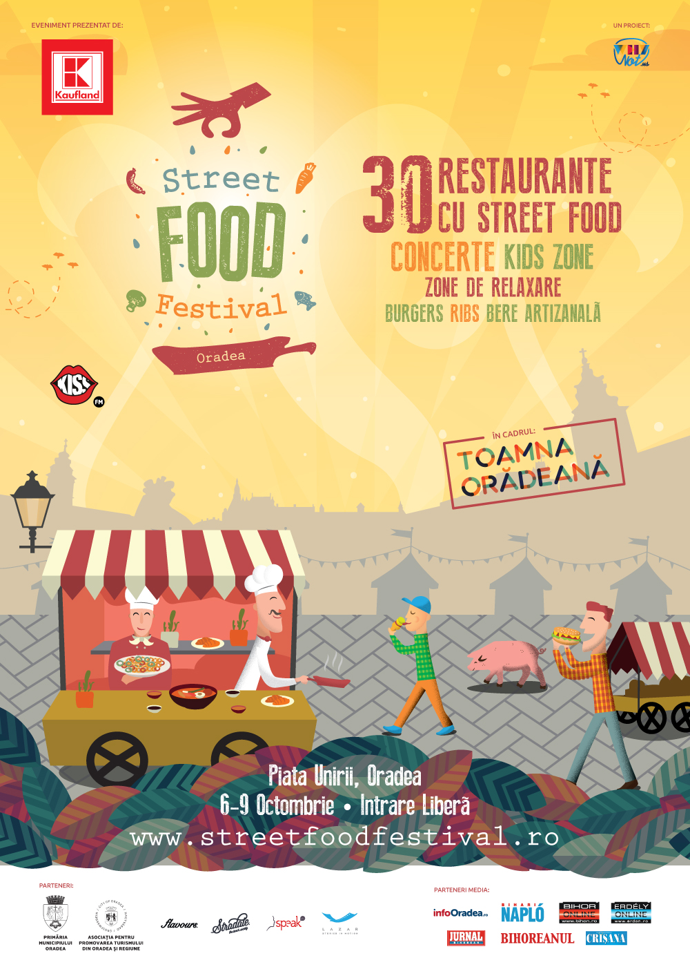 Street FOOD Festival vine la Toamna Oradeana