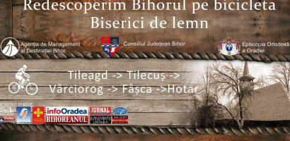 """CFR Oradea susține evenimentul """"Redescoperim Bihorul pe bicicletă-Biserici de lemn"""""""