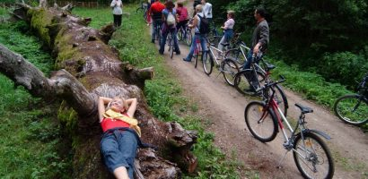CFR Oradea si IPJ Bihor sprijina turul ciclist pe bicicleta pe la bisericile de lemn, din acest weekend