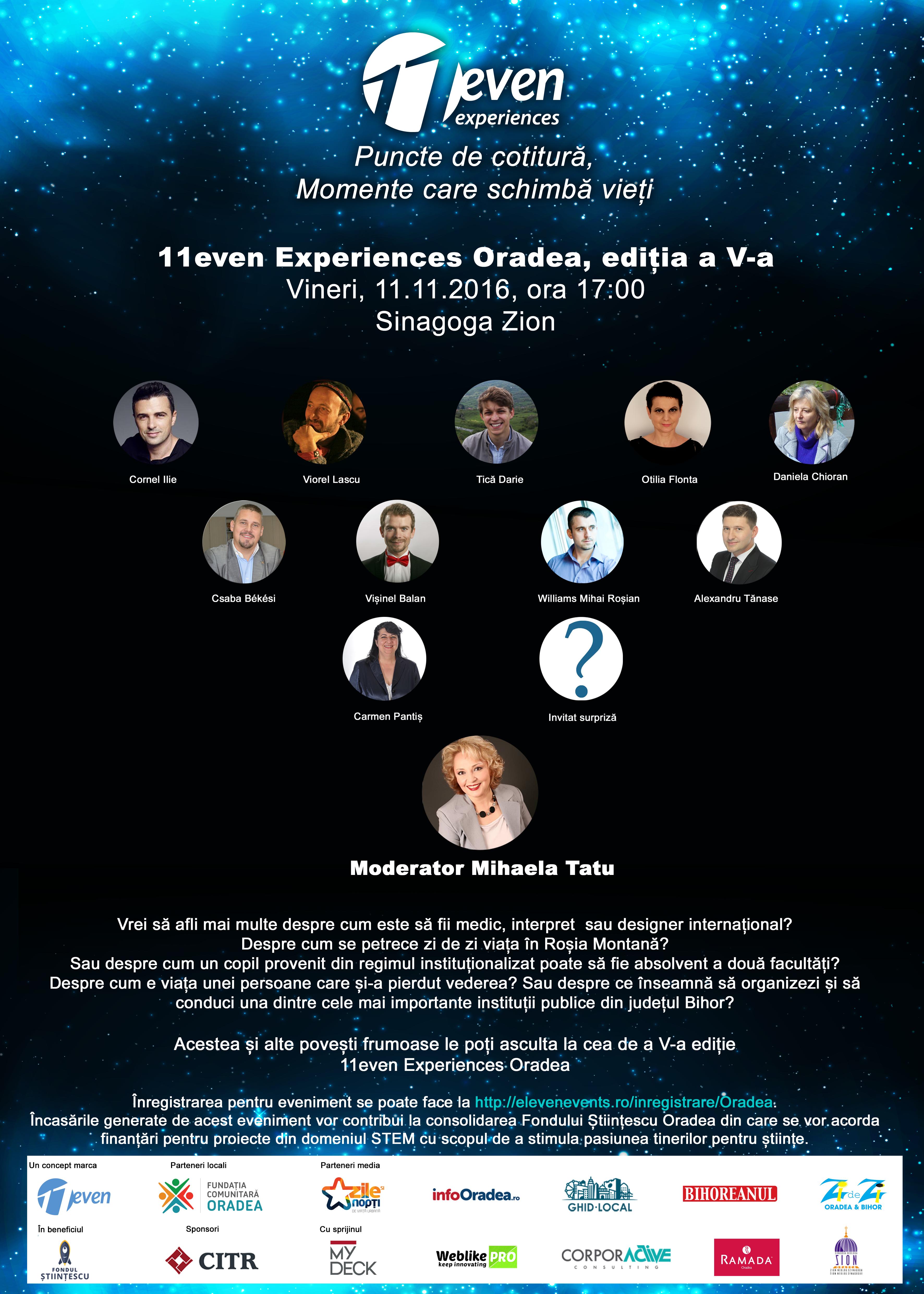 11even Experiences 2016 Oradea