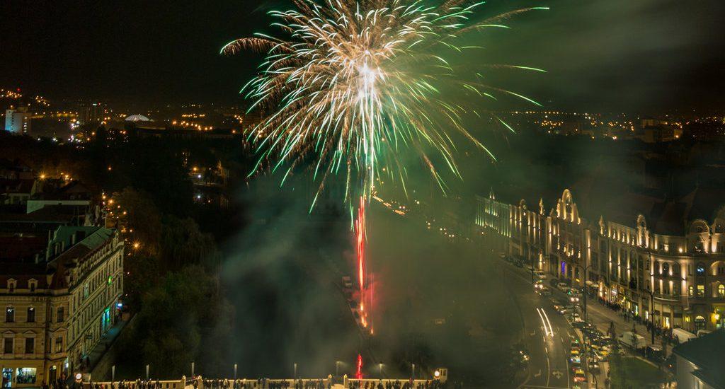 Ultima zi la Toamna Oradeana s-a incheiat cu focuri de artificii. FOTO / VIDEO