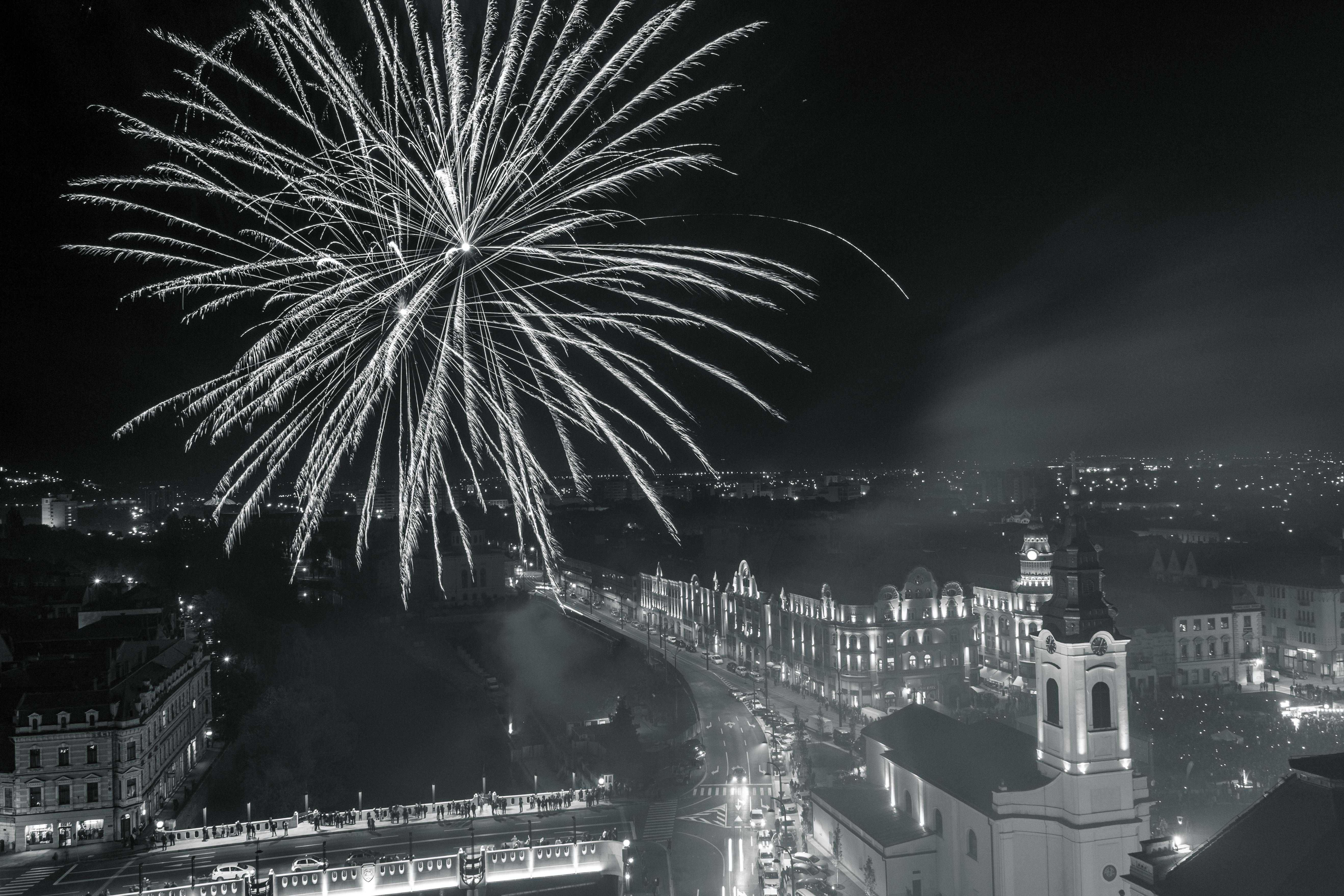 Artificii la Toamna Oradeana 2016