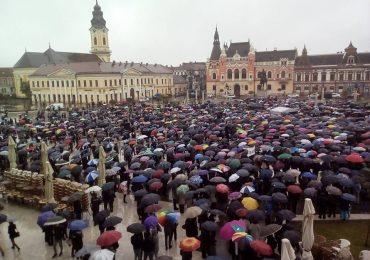 Coalitia pentru familie organizeaza, din nou, o adunare publica in Piata Unirii