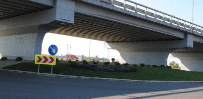Rondoul din giraţia Ogorului – Calea Aradului, amenajat printr-o sponsorizare
