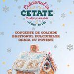 Traditii de Craciun in Cetatea Oradea, intre 2 si 24 decembrie