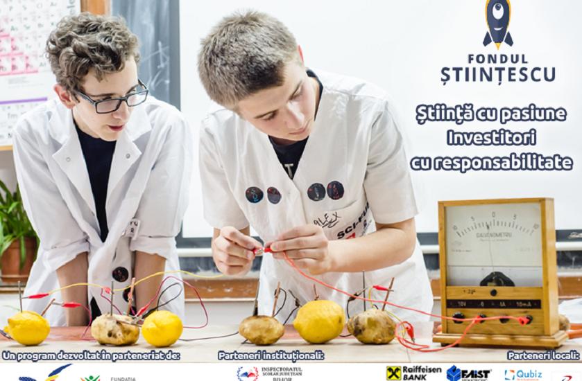 Fundaţia Comunitară Oradea lansează apelul de proiecte pentru programul Fondul Științescu 2016