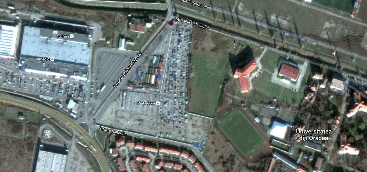 Piata Obor se muta pentru a lasa locul noii Sali Polivalente din Oradea