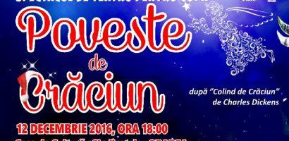 """Teatrul Coquette din București, ajunge la Oradea cu spectacolul """"Poveste de Crăciun"""""""