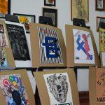 Expozitie de afise cu mesaj preventiv, realizate de elevii de la Liceul de Arta din Oradea