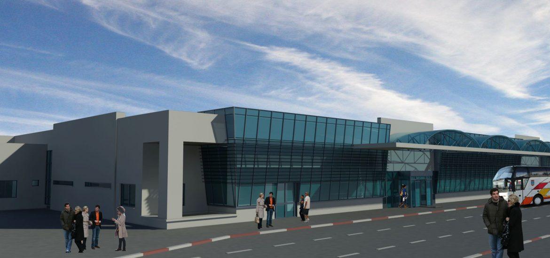 Aeroportul Oradea va avea un nou terminal de pasageri. FOTO