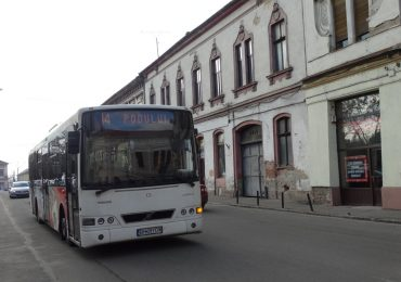 Modificari la traseul liniilor de autobuz 13,14,15 si 16, incepand de luni 19 decembrie