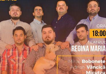 Bobonete (Bobita), Văncică (Celentano) si Rait (Dorel), vin la Oradea in doua spectacole pline de umor si glume
