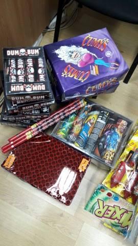 Confiscare artificii Oradea