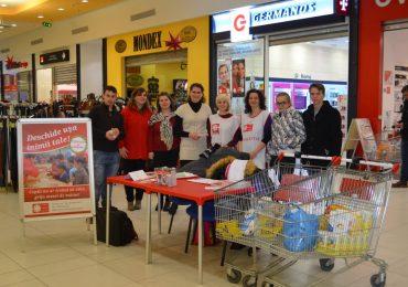 Bilantul colectei de alimente, initiate de Caritas Eparhial in decembrie 2016