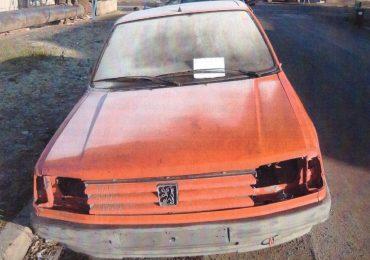 Masna abandonata Oradea FARA NUMERE Peugeot