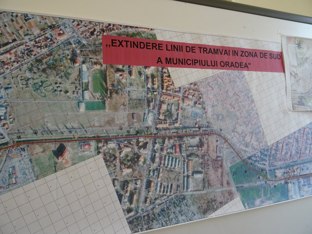 Linie de tramvai noua Oradea