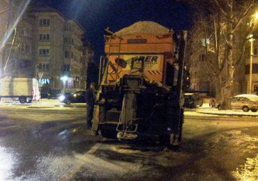 Utilajele RER au iesit la deszapezire in Oradea, inca de a primele ore
