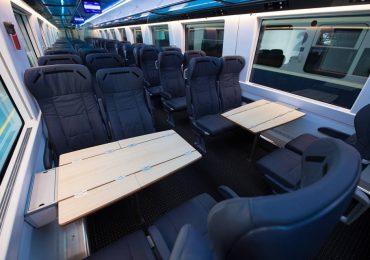 Oradenii vor avea parte de un tren de lux pe ruta Timisoara – Oradea – Baia Mare. FOTO / VIDEO