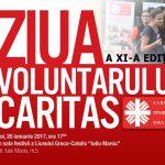 Caritas Eparhial Oradea organizeaza a XI-a editie a Zilei Voluntariatului Caritas