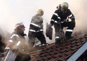 Incendiu in Haieu, ISU Crisana: cauza probabila un cos de fum deteriorat