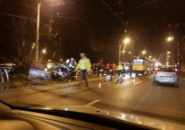 Accident grav republicii Magazinul Crisul Oradea